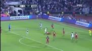 Божинов изпорти дузпа,но Партизан изхвърли Стяуа от Шампионската лига