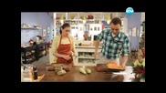Обърнат кейк, пуешко с банани, ориз със зеленчуци - Бон Апети (17.04.2013)
