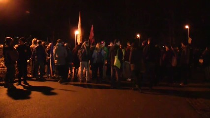 Germany: Pro-refugee activists rally against evictions in Baden-Wuerttemberg