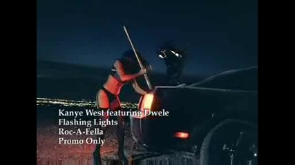 kanye west ft dwele - flashing light