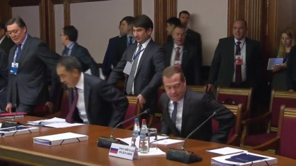 Belarus: Medvedev meets with his EEU counterparts to discuss trade ties