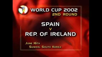 Испания-ирландия 1-1 дузпи 2002 world cup