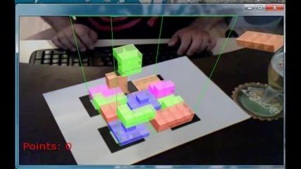 Augmented Reality - Tetris 3d