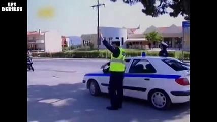 Смях! Гавра с полицаи!