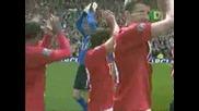 Манчестър Юнайтед и Бербатов Шанмпиони на Англия - Цялото Награждаване и Церемония