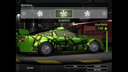 Need For Speed Underground 2 Mustang Gt Tuning