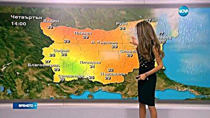 Прогноза за времето (13.09.2016 - централна емисия)