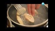 Баница с гъби, салата от репички, патешки дроб с ананас - Бон Апети (24.05.2013)