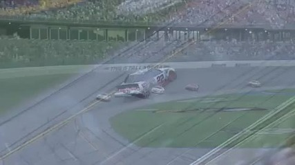 2010 Talladega Nationwide Last Lap Crash