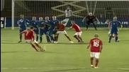 Cristiano Ronaldo freee kick Portugal