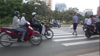 Как се пресича улица в Австралия