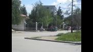 Кортежът На Джордж Буш В София