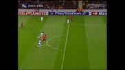 Бербатов Вкарва Гол На Реал Мадрид!