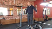 Демонстрация на фитнес уред стенд