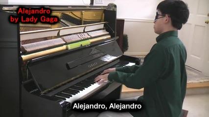 Lady Gaga - Alejandro Piano + Subs