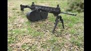Стрелба с лека картечница на М-ка платформа