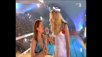 Lucy Diakovska @ Tv total Turmspringen 2010 / 1st part /