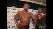 G1 CLIMAX Kurt Angle & Masahiro Chono vs. Shinjiro Otani & AJ Styles 08/15/08