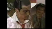 Rbd - Mia y Miguel - Here Without You + bg subs *