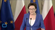 Polish PM Purges Ministers to Halt Slide in Popularity