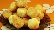 Меки и пухкави кокосови сладки