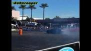 Ford Mustang Rtr drifting
