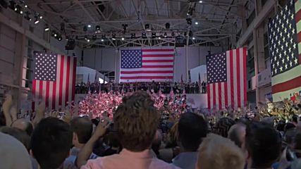Бруклин: Хилари Клинтън обяви Доналд Тръмп за темпераментен и неподходящ за президент на САЩ