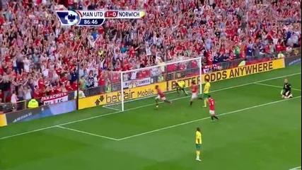 Манчестър Юнайтед 2 - 0 Норич Уелбек Гол *hq*