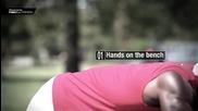 24. Street Fitness видео уроци от Hannibal for King - Модифицирани Лалан лицеви