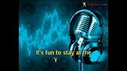Village People - Y M C A (karaoke)