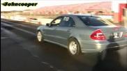 Убийствeнo бърз Mercedes E55 Amg