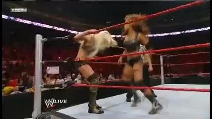 Wwe Raw Maryse vs. Eve Torres