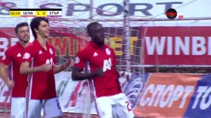Летящ старт за ЦСКА срещу Етър