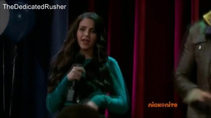 James Maslow and Ryan Newman singing Stronger