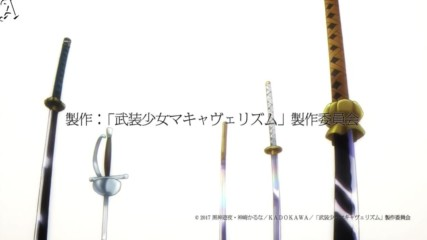 [bg sub] Busou Shoujo Machiavellianism Episode 9