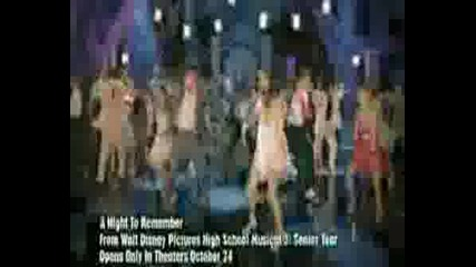 High School Musical 3 - Hsm - A Night To Remember (extra, O
