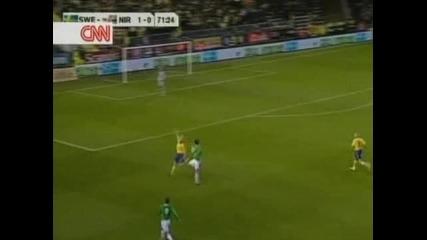 Швеция - Северна Ирландия 1:1