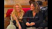 David Bisbal y Alicia Villareal En El Show de Christina