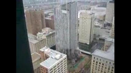 Експлозия на небостъргач