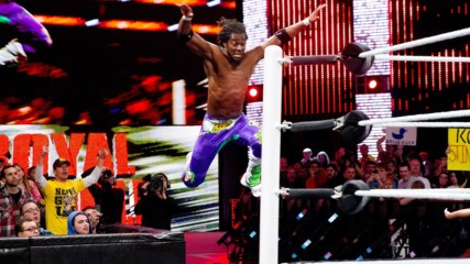 Kofi Kingston's unbelievable Royal Rumble Match saves