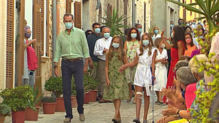 Spain: Royal family's visit divides Mallorca residents in wake of Juan Carlos departure