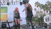 Ashley Tisdale - Crank it up ( Rock Version ) Live at Microsoft Opening