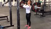 Тренировката На 17 Годишна Девойка