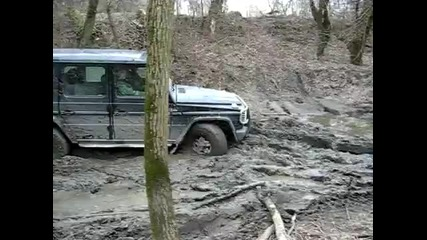 Mercedes G in the action 2