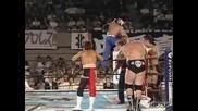 G1 CLIMAX Yuji Nagata, Tiger Mask, Jushin Liger & AKIRA vs. Giant Bernard, Milano Collection AT, Minoru & Prince Devitt