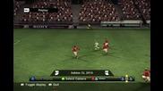 Смешен авто-гол на Pro Evolution soccer