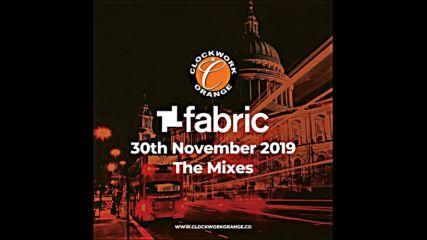 Patrick Millings Fabric Clockwork Orange 2019