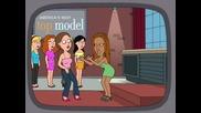 Tyra Banks във Family Guy ( Смях )