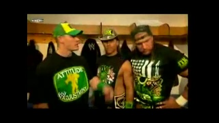 John Cena , Hornswoggle And Dx Funny Moment