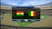 Pro Evolution Soccer 2015 Pc Gameplay { Ghana - Senegal }
